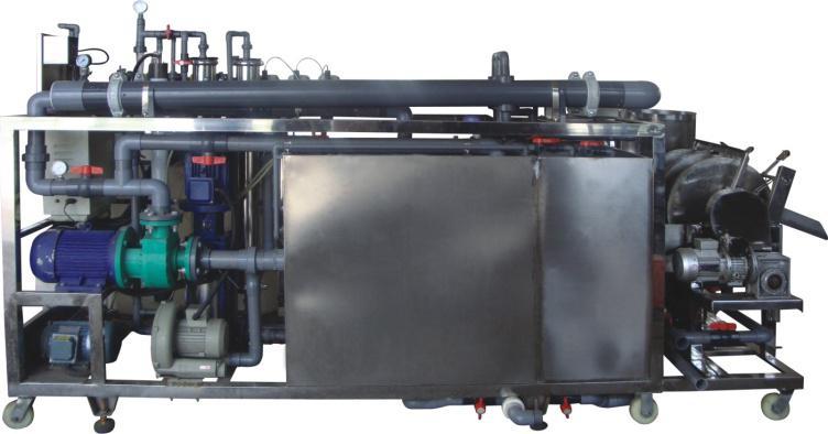 新型一体化污水快速处理机设备
