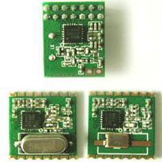 高灵敏度(-121dBm)以及高功率输出收发模块RFM22B