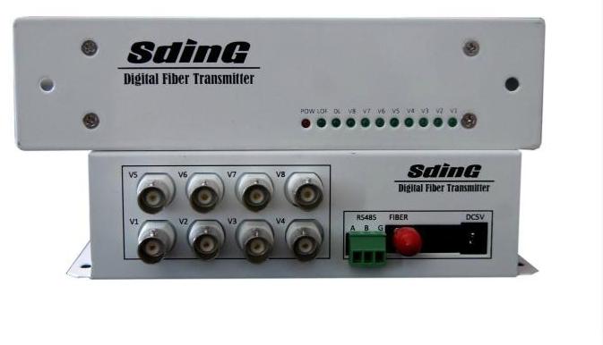 8路视频光端机SD-F8V