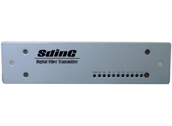 1路视频控制光端机SD-F1V1D