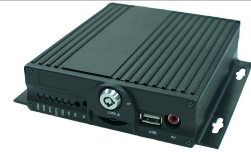 4路3G SD 卡录像机