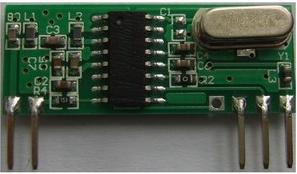 433M无线接收模块 RXB32