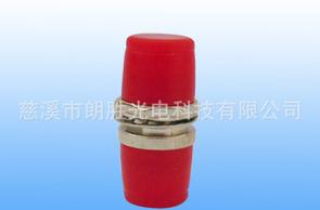 金属双工ST-ST光纤适配器