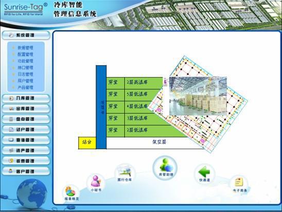 RFID智能冷库管理信息系统